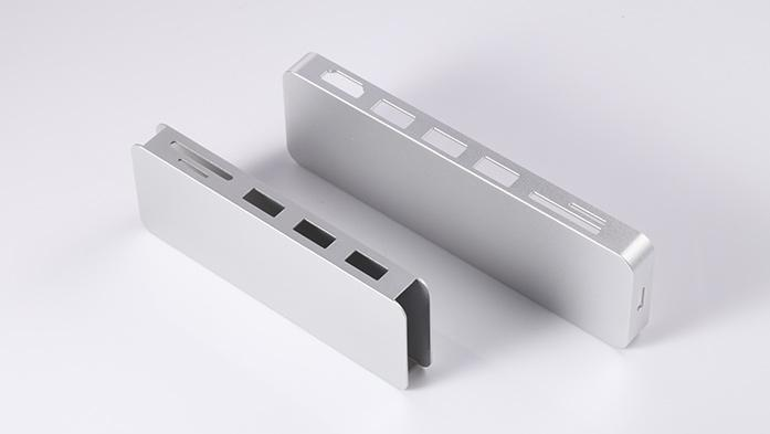 新大兴五金为联永供应读卡器铝合金外壳等产品